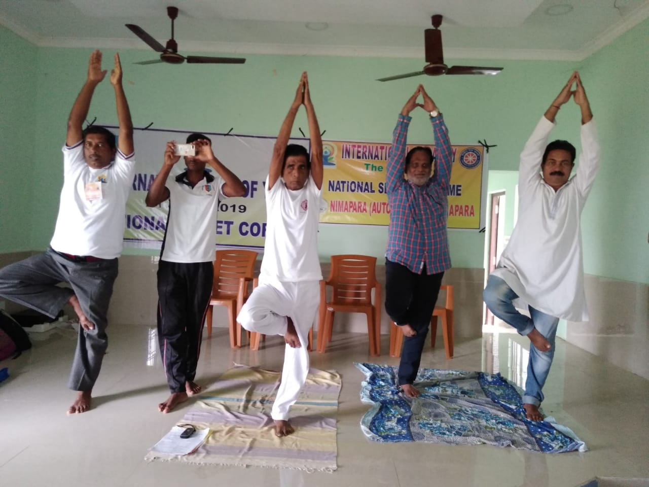 International Day of Yoga by Yoga Guru Gauranga Sahoo 21.06.2019