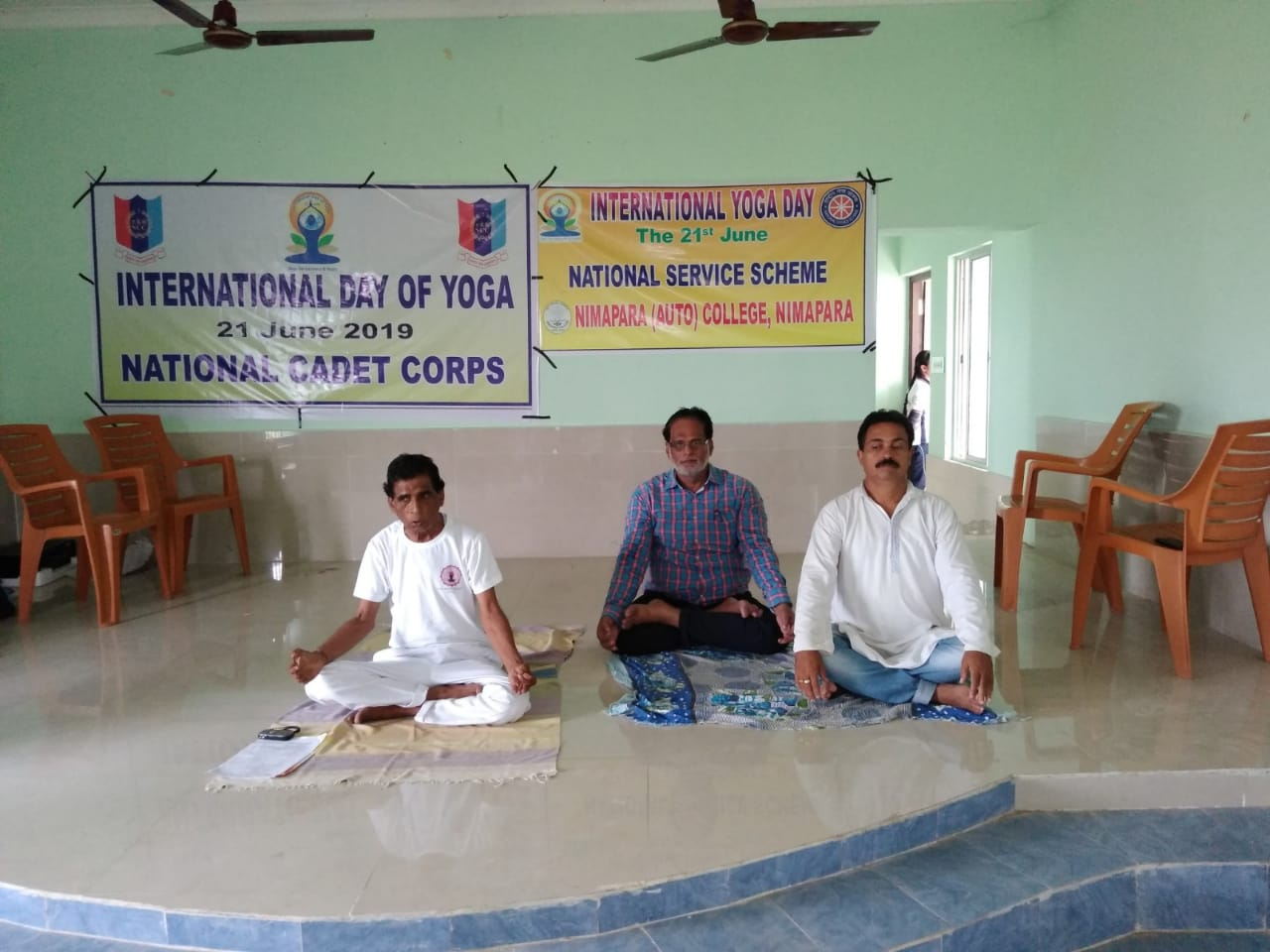 International Day of Yoga by Yoga Guru Gauranga Sahoo